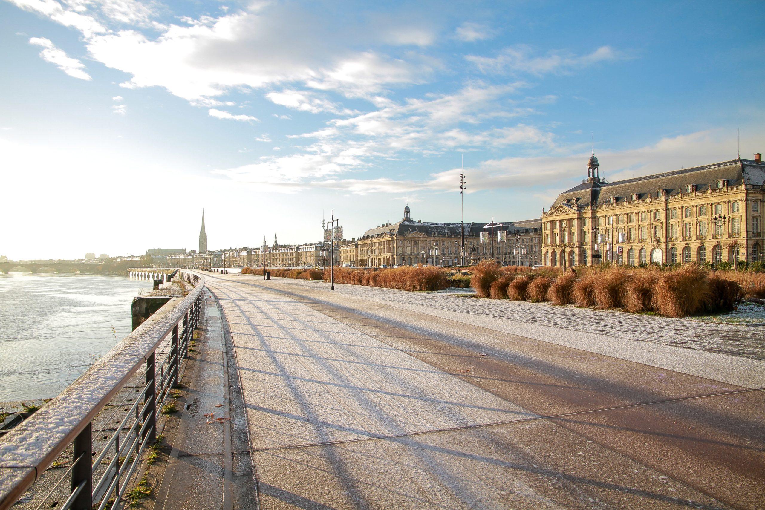 Quais de la ville de Bordeaux